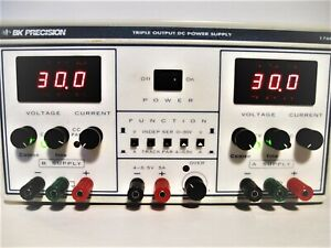 Bk Precision 1760 Triple Output Power Supply