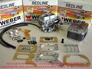 Weber Conversion Kit Fits Mazda Dodge Mitsubishi 2 6 Spanish Made 38 38 Weber