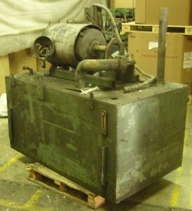 280 Gallon Hydraulic Tank And Lincoln Ac Motor 50 Hp 1765 Rpm 326t Frame