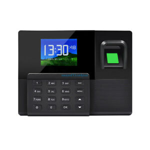 Tcp ip Fingerprint Employee Time Clock System attendance Clock With Rfid Reader