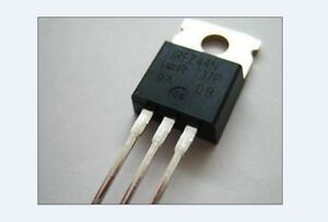 100 Pcs Irfz44 Irfz44n Mosfet N channel 49a 55v Ir New