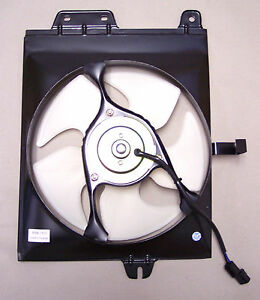 New 1993 1996 Mitsubishi Mirage Ac Condenser Cooling Fan Assembly