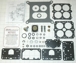 Holley 6299 Carburetor Kit 390 Cfm Holley 4 Barrel Carburetors Ethanol Toleran