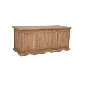 Rustic Executive Desk Western Real Solid Wood Office Western Cabin Lodge