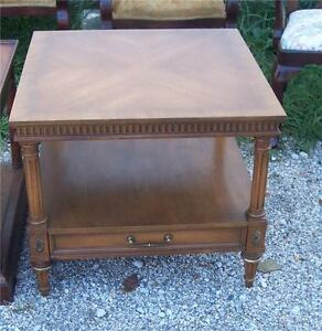 Walnut Weiman Side Table End Table T188