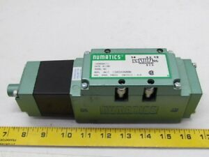 Numatics Iso 5599 11i34sa400k Valve Pneumatic 100 120v 50 60hz New