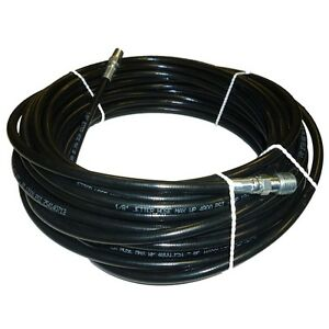 1 8 X 50 Sewer Cleaning Jetter Hose 4800 Psi