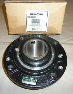 Rexnord Mbr2207 Piloted Flange Bearing 2 7 16 Pillow Block New