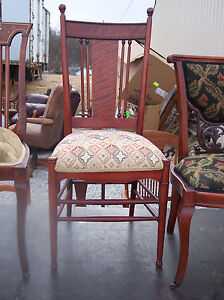 Cherry Spindle Back Parlor Chair Sidechair Sc162