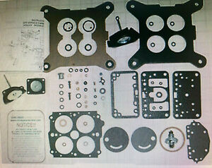 1983 87 Carb Kit Ford Amp Ford Truck 4180c Holley 4 Barrel 302 351 460 Engines