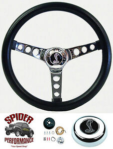 1984 1991 Mustang Steering Wheel Cobra 13 1 2 Classic Chrome