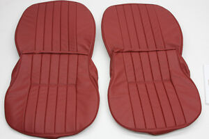 Porsche 356 A b c Vinyl Front Seat Cover Set For Coupe Cabriolet Roadster