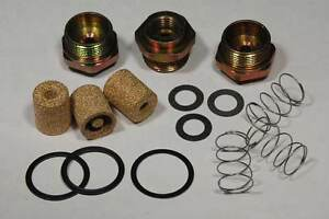 1969 71 Six Pack Holley Fuel Inlet Kit 15pc New Does 3 Carbs Filters Springs Gst