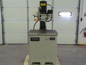 Standard Master Kindt collins Model Op 2hp Vertical Oscillating Spindle Grinder