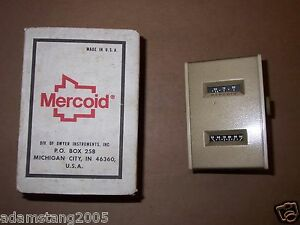 New Mercoid 860 ms 2 56 80 Temperature Control Switch