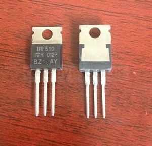 10pcs Irf510n Irf510 Power Mosfet N channel 5 6a 100v To 220