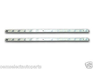 2008 2010 Ford F 250 Harley davidson Pickup Bed Chrome Emblems Decals Pair 46