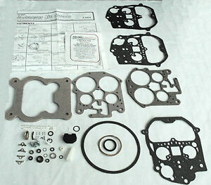 1980 87 Carb Kit Rochester 4 Barrel Chevy Gmc Truck 350 400 454 Enginesnew