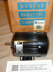 Bodine 42r5bfsy Electric Motor 1 12 Hp 1800 Rpm 115vac 1 Phase 266ng6049 New