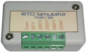 Rtd Simulator And Tester Troubleshooting Simulates 2 wire 3wire 4 wire Pt 100