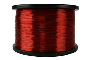 Temco Magnet Wire 26 Awg Gauge Enameled Copper 5lb 155c 6290ft Coil Winding
