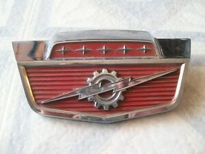 1964 Ford Hood Emblem Rat Rod