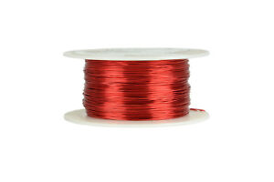 Temco Magnet Wire 25 Awg Gauge Enameled Copper 8oz 155c 497ft Coil Winding