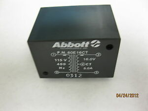 Abbott Technologies 80e16ct 115v 400hz Power Transformer 5950 01 338 9299