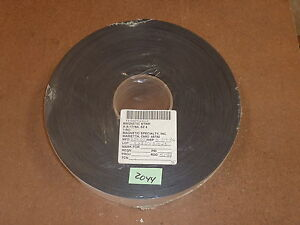 2 X 100 Magnetic Strip Adhesive Back 06 Thick