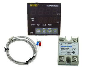 Sestos Digital Pid Temperature Controller 25a Ssr K Sensor Heater Brewing