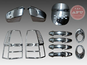 Honda Crv 2007 2011 Super Combo Chrome Covers Cover Trims