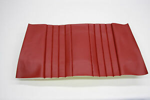Porsche 356 1956 1958 Speedster Rear Seat Covers Red Vinyl