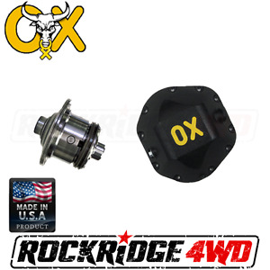 Ox Locker Dana 44 Jeep Wrangler Jk Non Rubicon 35 Spline W Differential Cover
