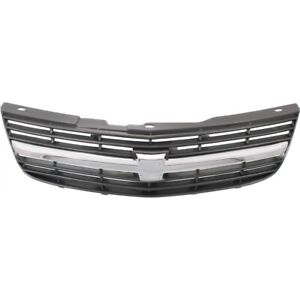 Grille For 2000 2005 Chevrolet Impala Gray Plastic