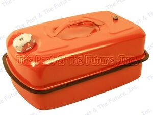 Brand New Red Fuel Gas Tank Nato Jerry Can 20 Liter Metal Steel Boat Fishing