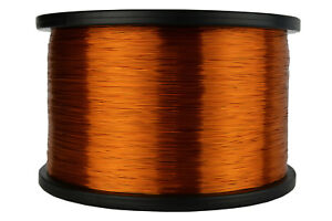 Temco Magnet Wire 28 Awg Gauge Enameled Copper 5lb 9940ft 200c Coil Winding