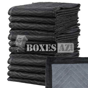 Moving Blankets 12 Pack 72x80 45 48 Lbs Professional Quilted Moving Pads