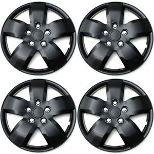 4pc Set Silver Abs 16 Wheel Cover Hub Caps Fits 2007 2008 Nissan Altima