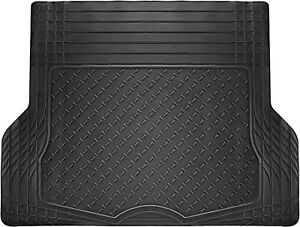 Trunk Cargo Car Floor Mats For Honda Civic All Weather Rubber Black Auto Liners