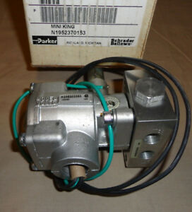 Parker N1952370153 Mini King Electric Solenoid Valve 120v 60 Hz K235303353 New
