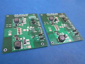 Lot Of 2 Max19999 Evaluation Kit Board