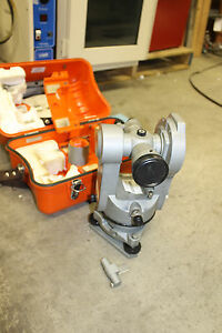 Lietz Theodolite T60d Transit With Case