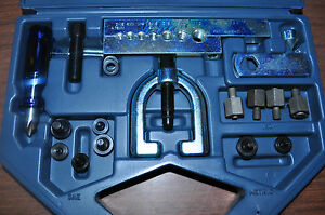 Lisle 56150 Flaring Tool Combination Of Single double Bubble Iso Made In Usa
