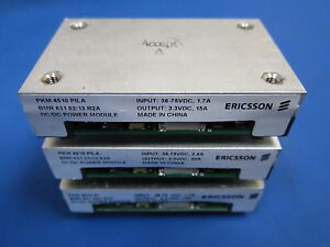 Lot Of 3 Pkm Ericsson Dc dc Power Module