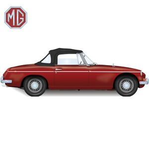 Mgb Convertible Top With 3 Plastic Windows 1971 1980
