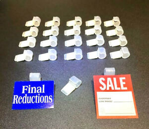 Roll Of 10 370 bargain Price Square White 3 4x3 4 Price Stickers Tags Labels