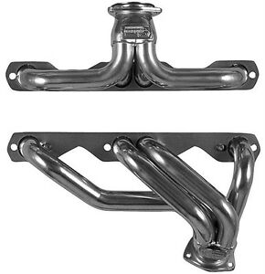 Small Block Chevy 265 400 Chevy Car Plain Steel Exhaust Headers Sbc