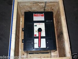 General Electric Ge Ths Ths303f 3 Pole 3000 Amp 600v Air Circuit Breaker