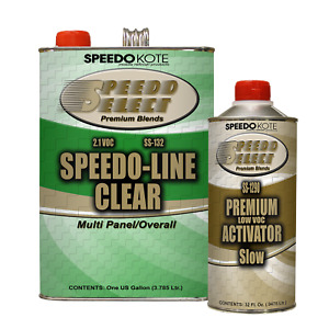 Clear Coat Low 2 1 Voc Urethane Ss 132 1290 4 1 Gallon Clearcoat W Slow Act