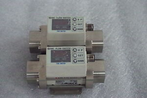 Smc Flow Switch For Water Pf2w740 n04 67 Lot Of 2 Free Ship